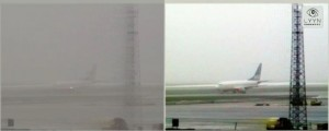 Malmö airport in fog, video dump, not 300 dpi